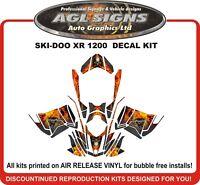 SKI DOO REV XR 1200 GRAPHICS SKIDOO BRP DECO WRAP SKI-DOO XR1200 ALL YEARS