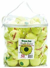 Pressurized Green Dot Tennis Balls 50 Ball Tote Bag Green Dot Tennis Balls