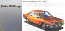 Audi 100 Saloon Avant Mk 2 1979/80 Original UK Sales Brochure No. 999/119.004.25