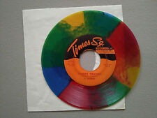 Stormy Weather 5 Sharks Times SQ Doo Wop 45 vintage multi color swirl
