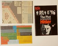 Strategy & Tactics Magazine #59 The Plot To Assassinate Hitler SPI Unpunched
