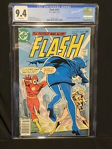 🔥Flash #251 DC 1977 CGC 9.4 Bronze Age Comic 30 NO RESERVE AUCTIONS THIS WEEK🔥