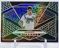 Kai Havertz 2019-20 Obsidian Soccer Vitreous GREEN /25 SP Germany