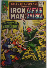 Tales Of Suspense #80 (Aug 1966, Marvel), VG-FN, Classic Red Skull cover