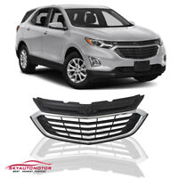 Fits Chevrolet  Equinox  2018 2019 2020 Front Upper Grille Grill Chrome