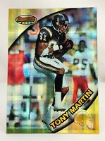 1997 Bowman's Best - Atomic Refractors #63 - TONY MARTIN - San Diego Chargers