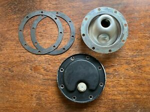 Porsche 911 930 Engine Oil Sump Plate w/ Drain Plug + Venturi Screen & Gaskets