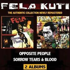 FELA KUTI & AFRIKA 70 – OPPOSITE PEOPLE / SORROW TEARS & BLOOD 2 ON 1 CD (NEW)
