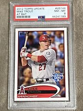 💥2012 Topps Update Mike Trout At Bat Psa 8