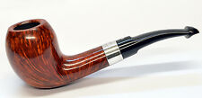 Peterson Sherlock Holmes Strand Smooth Finish Silver Mounted Pipe