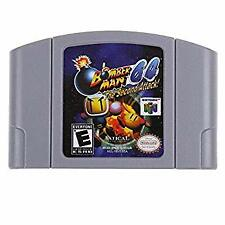USED Bomberman 64 The Seco N64 Game PAK Cartridge only Super Clean Free Shipping