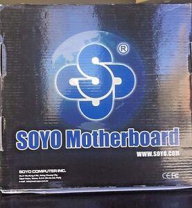 SOYO SY-K7VME, Socket A Flex, AMD Motherboard New Open Box