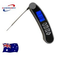 Food Grade Digital Food Meat Cooking Thermometer w/ Backlight & Calibration