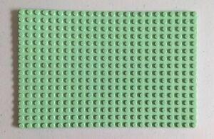 LEGO Baseplate16 x 24 Studs Light Sea-Foam Green - Platform (#3334) Set 1688