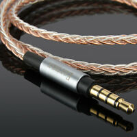 7N 8core 3.5mm OCC Upgrade Audio Cable For SONY XB950BT MDR-1A MDR-1ADAC MDR1ABT