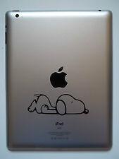 1 X Pegatina de Vinilo Calcomanía-perro de dibujos animados para iPad Mac Macbook Tablet Laptop Kindle