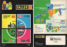 Faller #871-Katalog 1971/72-Flugzeuge-Rennen/Verkehr-Hit Car/Train-AMS-Deutsch
