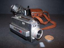 HONEYWELL ELMO SUPER 8 MOVIE CAMERA FILMATIC 103T +FLOODLIGHT AND BAG LOT