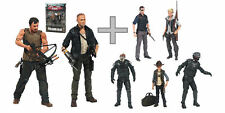 THE WALKING DEAD SERIES 4 Lot of 7 MERLE & DARYL 2 Pack+CARL_ANDREA_GOVERNOR_MOC