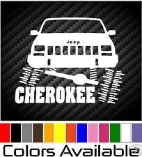 "JEEP CHEROKEE FURNIA  DECAL 5"" CAR WINDOW FUNNY VINYL STICKER"