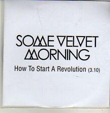 (CQ805) Some Velvet Morning, How to Start A Revolution - 2012 DJ CD