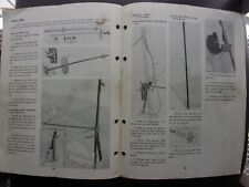 Vintage, John Deere Predelivery Instructions for 25 Combine