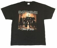 Iron Maiden Dance Of Death 2003 2004 World Tour Black T Shirt New Official NOS