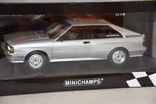 Minichamps 155016122 - AUDI QUATTRO – 1980 – SILVER L.E. 504 pcs 1/18