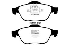 EBC Yellowstuff Front Brake Pads for Renault Twingo 1.6 RS (133 BHP) (2008 > 14)