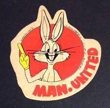 Manchester United Rare Bugs Bunny Sticker