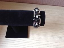 Black Disco Ball Magnetic Bracelet Cuff