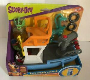 Scooby Doo Imaginext Scoobys Ocean Boat Set NIB