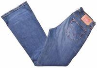 LEVI'S Womens 529 Jeans W30 L32 Blue Cotton Flare  GS09