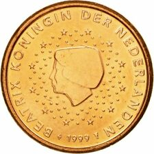 [#584003] Nederland, Euro Cent, 1999, UNC-, Copper Plated Steel, KM:234