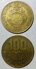 T1 Costa Rica 100 Colones 1997  None-Magnetic 30mm copper coin km230a