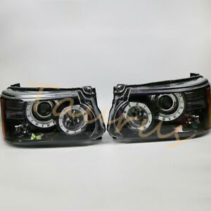For Land Rover Range Rover Sport 2010-2013 Left + Right LED Headlights Assembly
