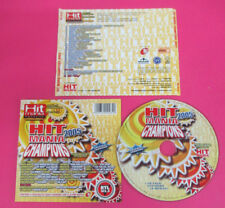 CD HIT MANIA CHAMPIONS compilation PROMO 2005 AXWELL SUGARFREE LIQUIDO (C43)
