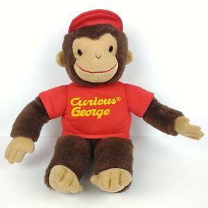 Gund Curious George Plush Vintage Monkey Stuffed Animal Rare 21 inch