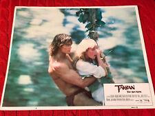Tarzan The Ape Man 1981 MGM lobby card Bo Derek Miles O'Keefe