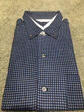New listing New Vintage Sears Sanforized Pilgrim Flannel Shirt Large 16-161/2