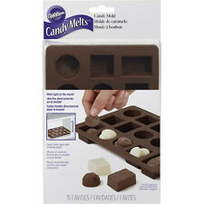 Box of Chocolates Silicone Candy Mold from Wilton #8515
