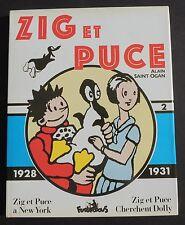 Collection Copyright. ZIG ET PUCE vol. 2 1928-1931. SAINT-OGAN. Futuropolis
