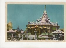 Jain Temple Calcutta India 1961 Postcard Mordecai 231b