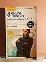 Le chiavi del regno - Cronin - mondadori - I ed. gli oscar settembre 1965