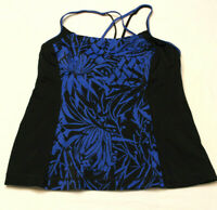 LANDS' END Womens Tankini Swimsuit Top size  8