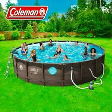 Coleman Vista 18x48 Steel Frame Vista Series 2 Swimming Pool -W/Protection Plan