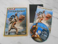 TITAN Quest Steelbook Edición (Pc, 2006) Disco de región libre ** ** barato