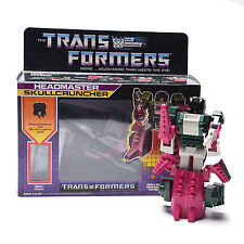 Transformers G1 Decepticon Headmaster Skullcruncher Reissue Action Figure