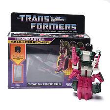 Transformers G1 Headmaster Skullcruncher Reissue Action Figure Gift Robots Toys