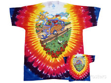 Grateful Dead - Summer Tour Bus Apparel T-Shirt L - Tie Dye